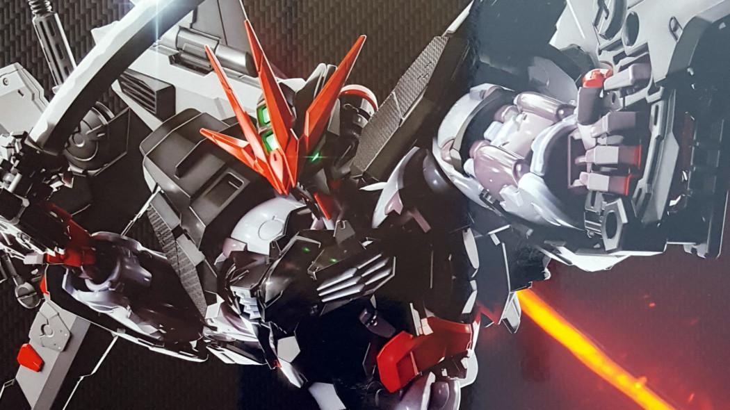 1/100 Hi-Resolution Model Gundam Astray Noir Unboxing