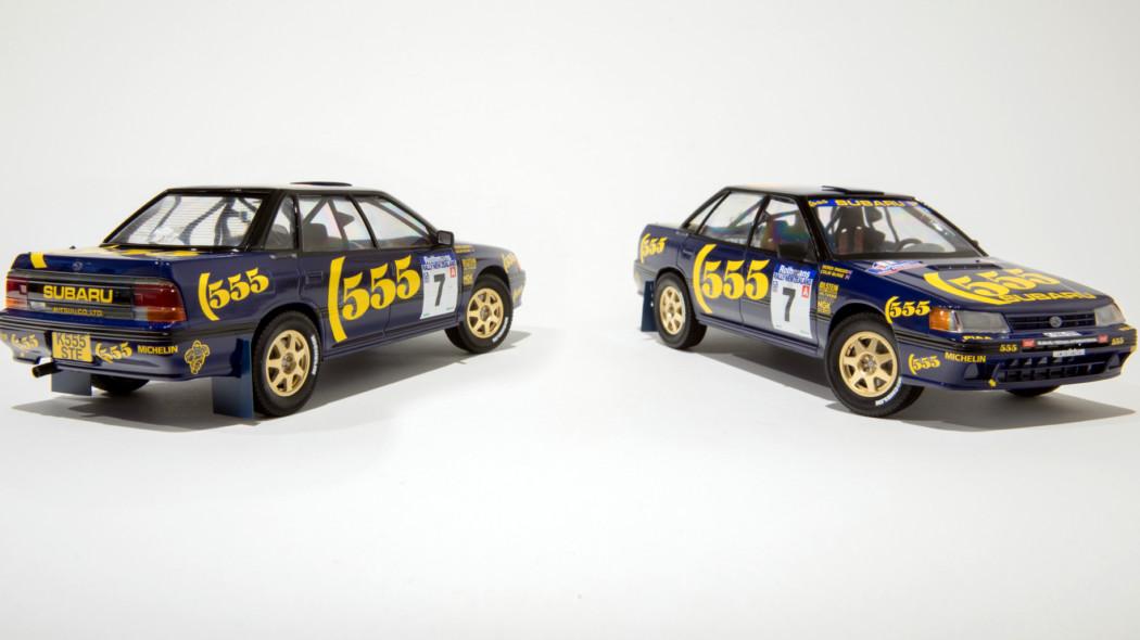 1/24 Subaru Legacy RS 1993 Rally New Zealand Winner/Tour de Corse