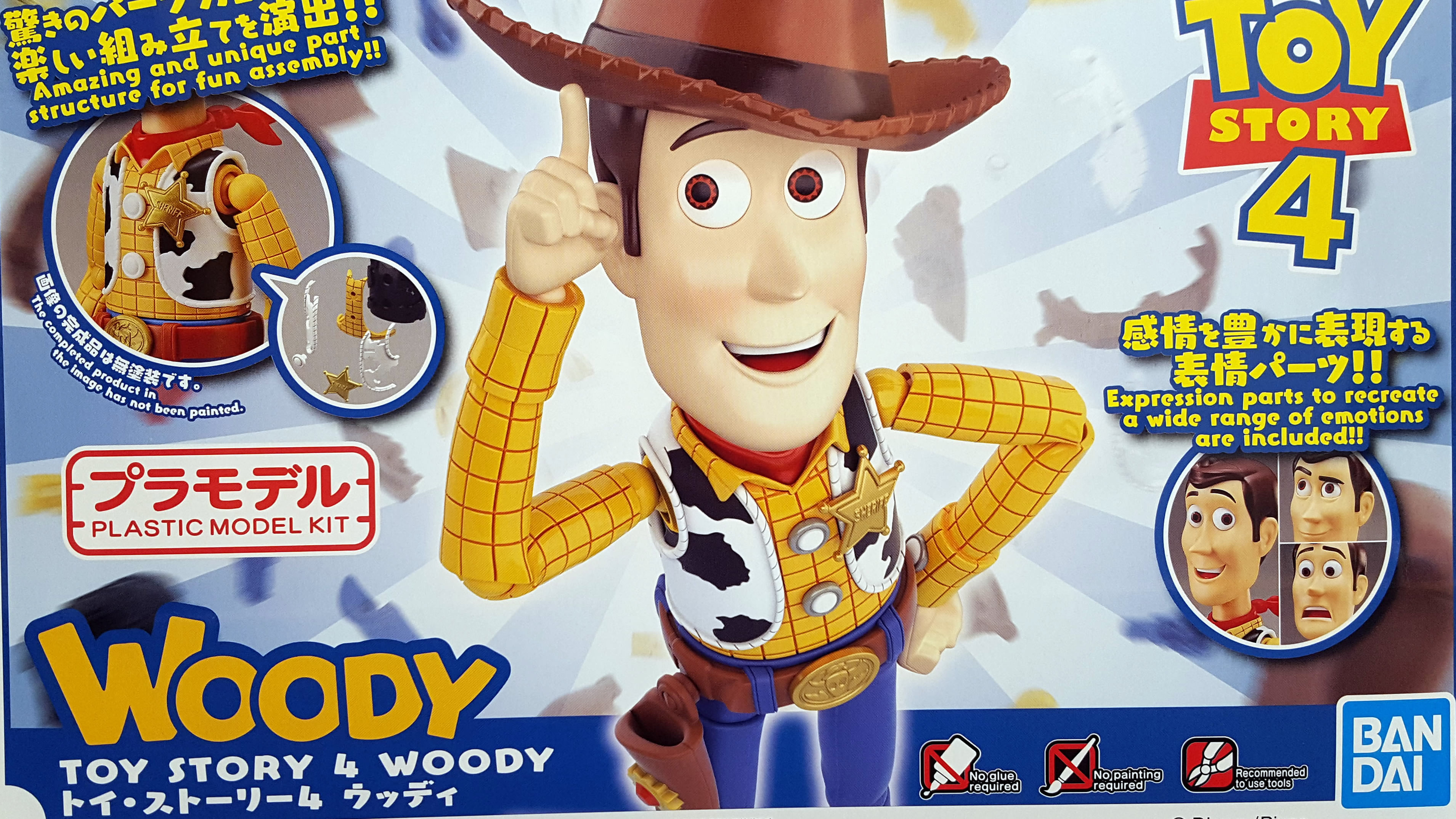 Toy Story 4 – Woody Cinema-rise Standard Unboxing