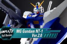 Gunpla TV – MG Gundam NT-1 Alex Ver. 2.0