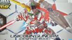 Cross Silhouette Unicorn Gundam (Destroy Mode) Unboxing