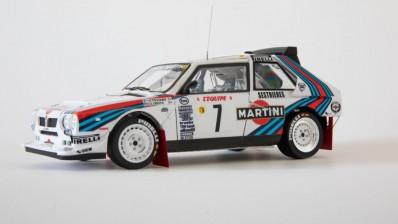 1/24 Lancia Delta S4 '86 Monte Carlo Rally Ver.