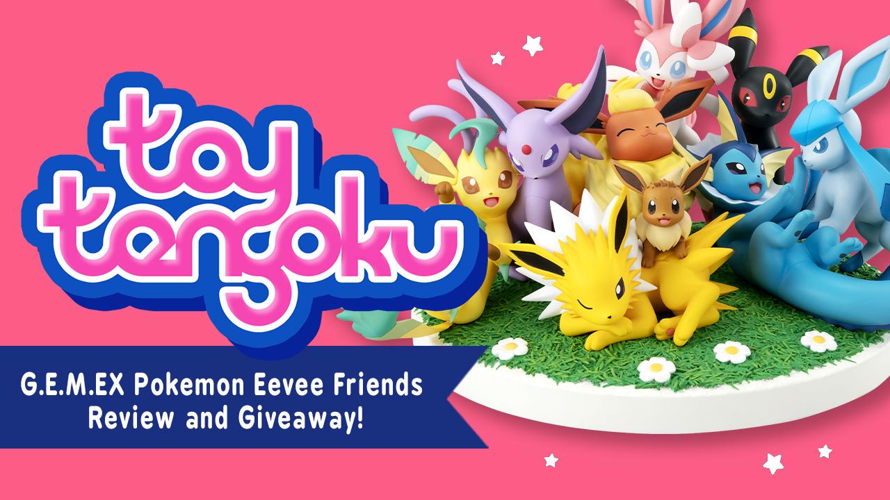 G.E.M.EX series Pokemon Eevee Friends 14cm Figure MEGAHOUSE Anime From JAPAN