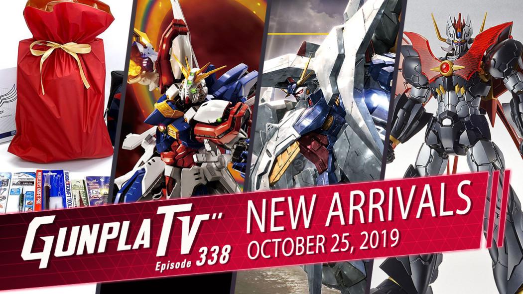 Gunpla TV Episode 338 – New Arrivals for October 25th