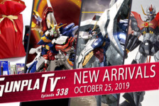 Gunpla TV Episode 338 – New Arrivals for October 25th