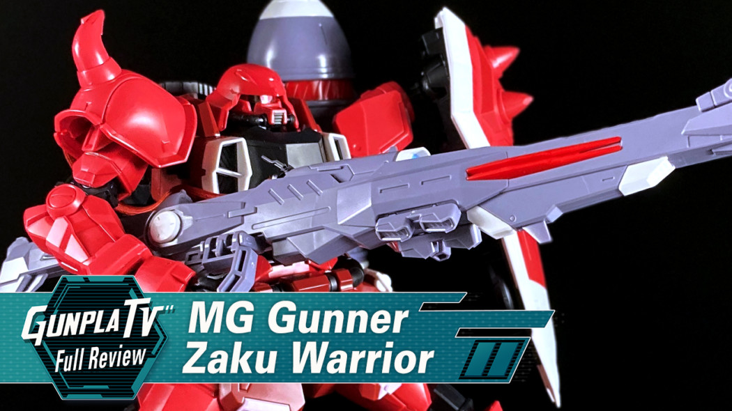 Gunpla TV – MG Gunner Zaku Warrior (Lunamaria Hawke Use)