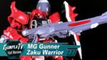 Gunpla TV – MG Gunner Zaku Warrior (Lunamaria Hawke Use)
