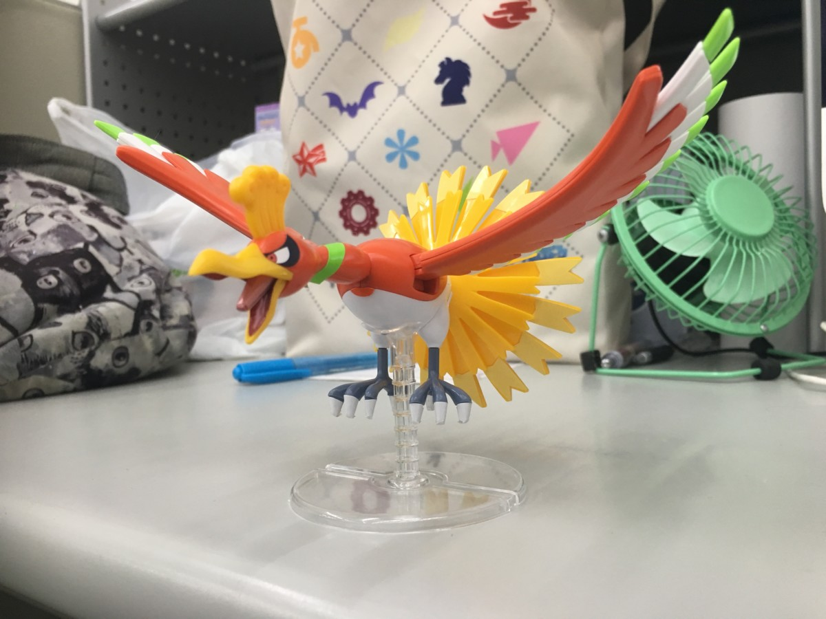 Pokemon Plamo Collection Ho-Oh
