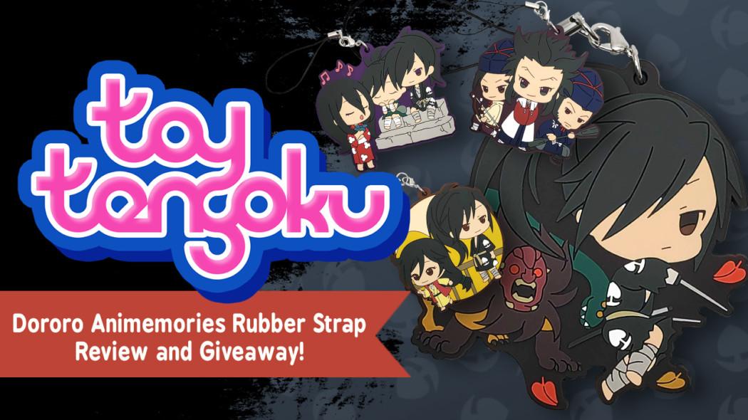 Toy Tengoku Episode 115 – Exclusive Dororo Rubber Straps!