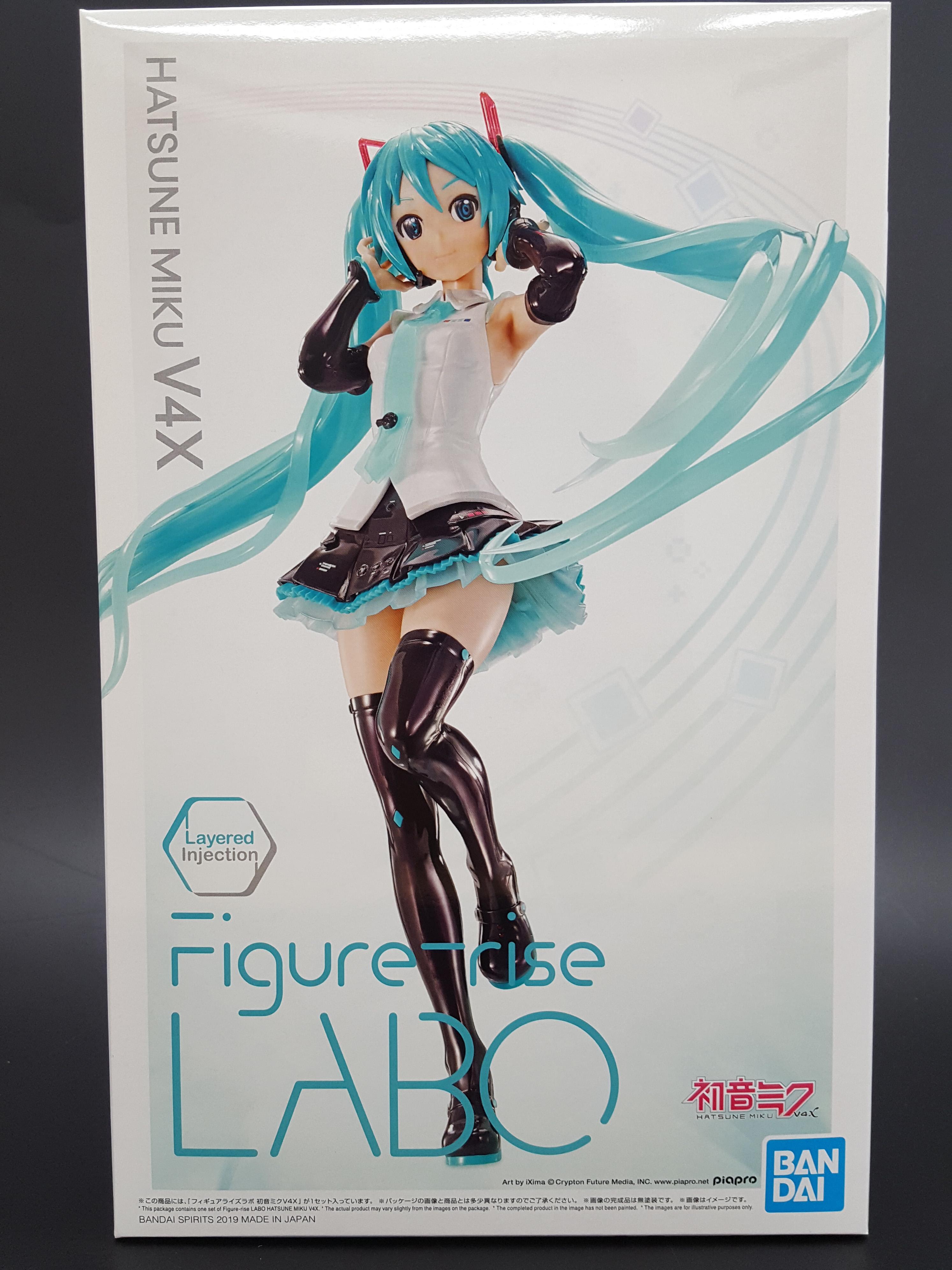 Figure-rise LABO Hatsune Miku V4X