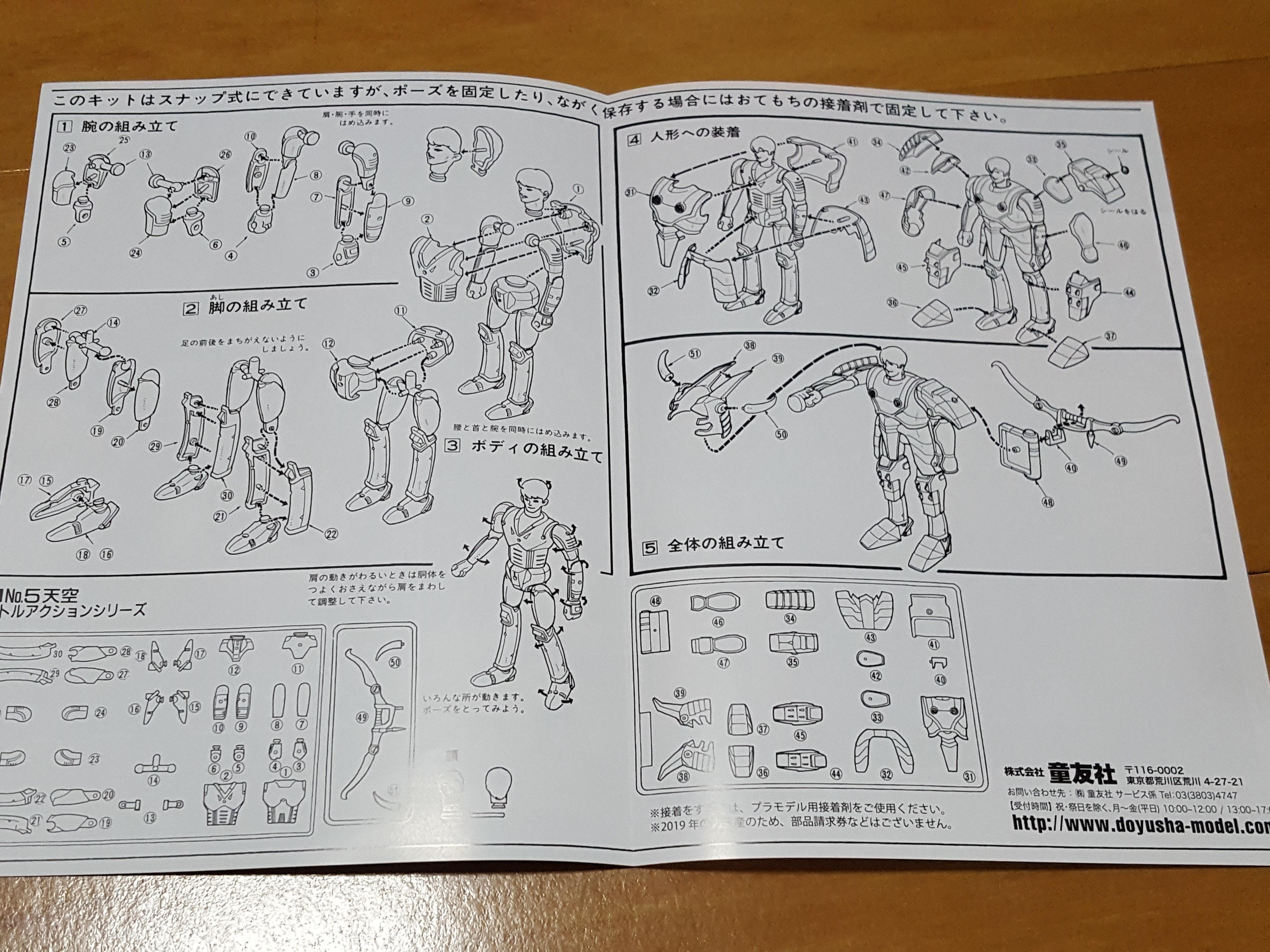 1/12 Ronin Warriors: Five Ronin Collectors Box: Strata