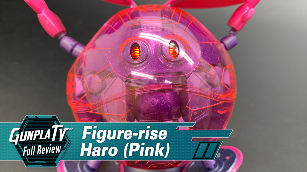 Gunpla TV – Figure-rise Mechanics Pink Haro