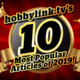 hobbylink.tv's Top 10 Articles of 2019