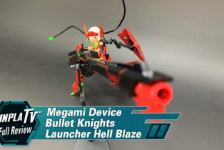 Gunpla TV – Megami Device Bullet Knights Launcher Hell Blaze