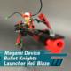 Gunpla TV – Megami Device Bullet Knights Launcher Hell Blaze