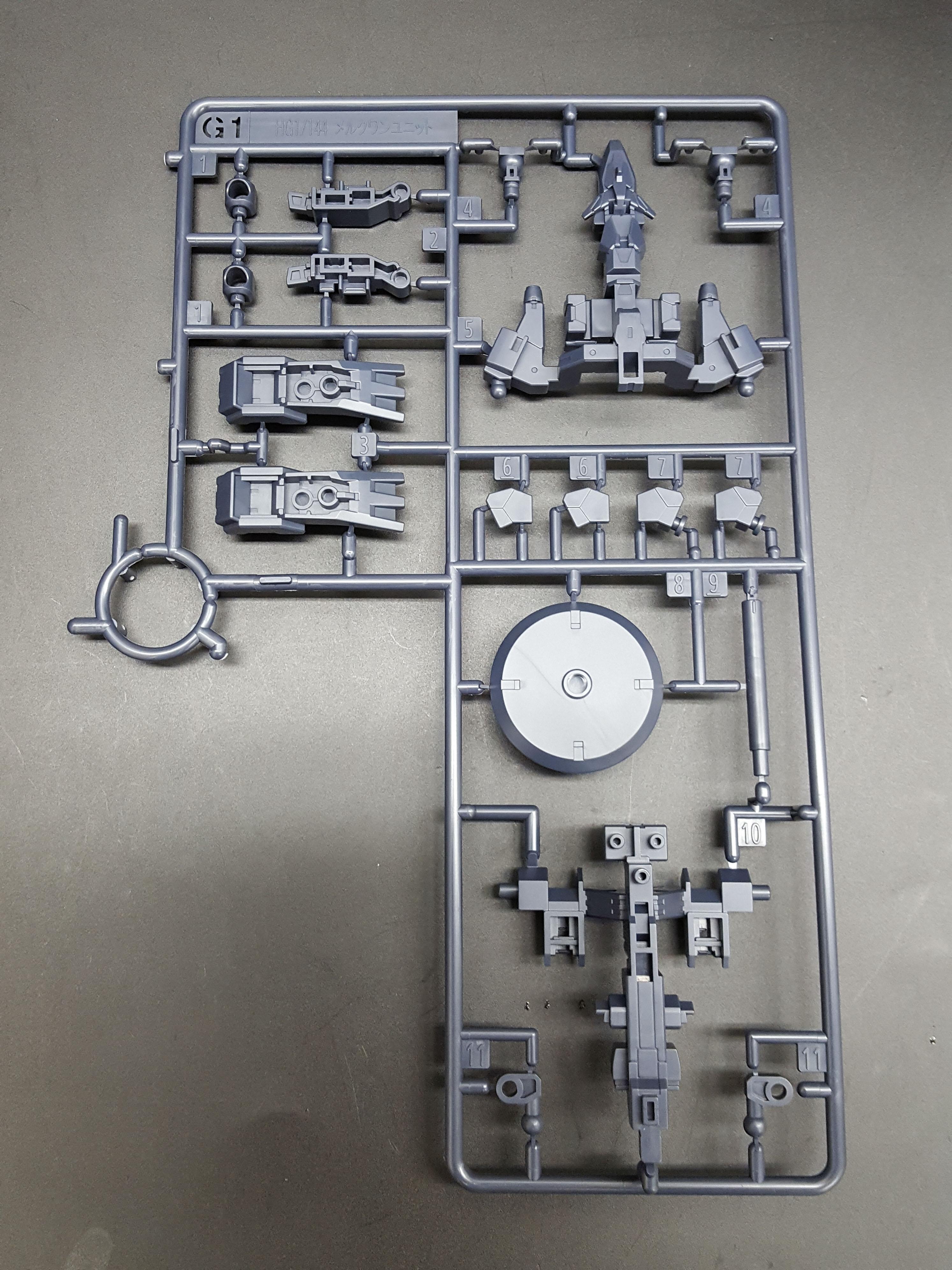 1/144 HGBD:R Mercuone Unit