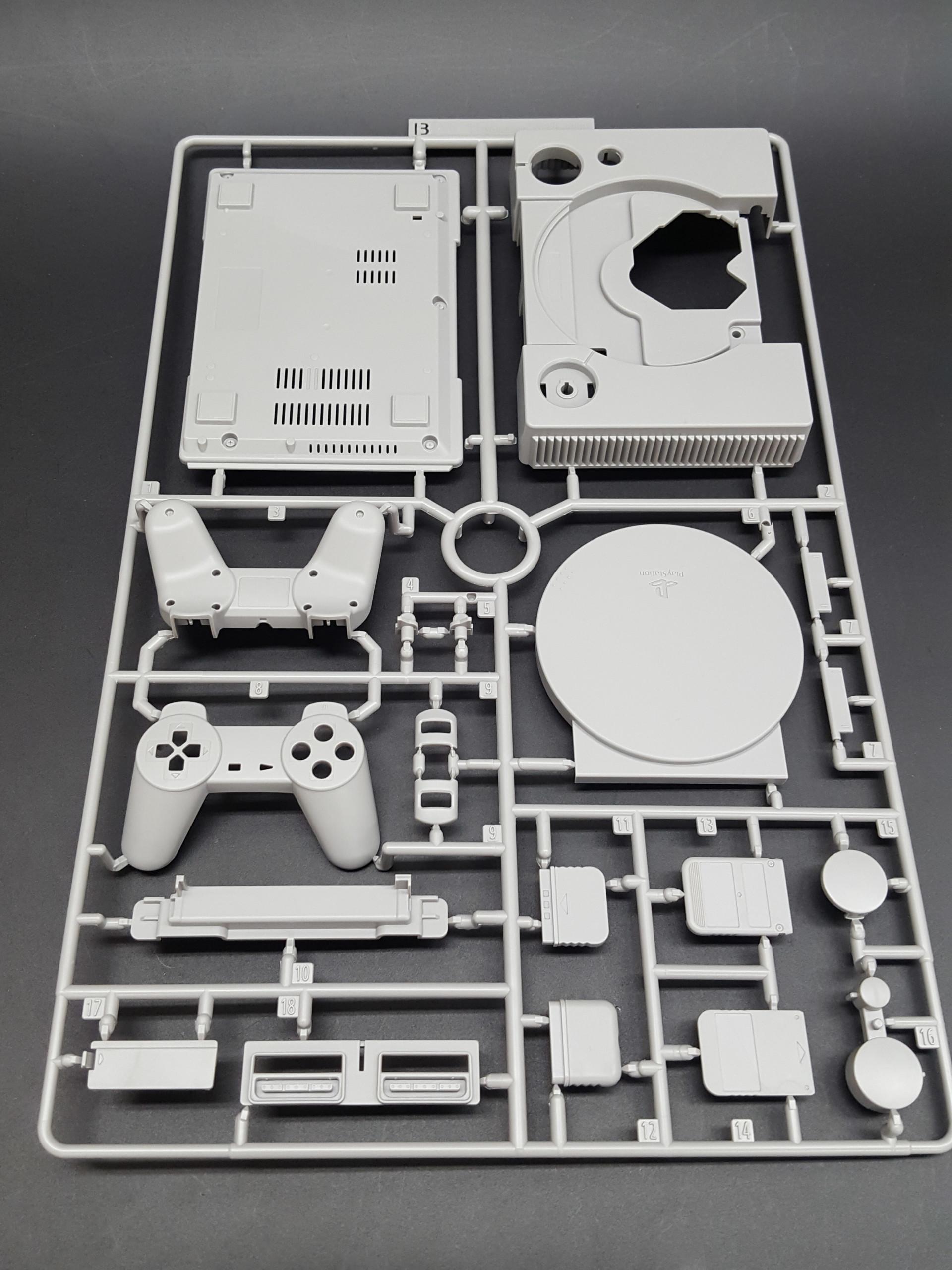 #StayHome: Monte um modelo em escala de PlayStation para aproveitar seu tempo em casa com nostalgia 1