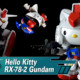 Hello Kitty x Gundam Collaboration