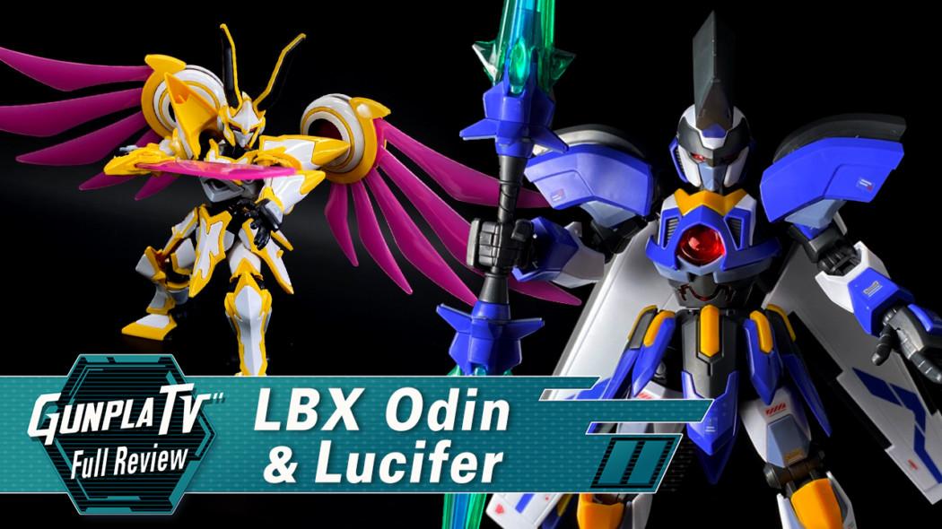 LBX Odin & Lucifer