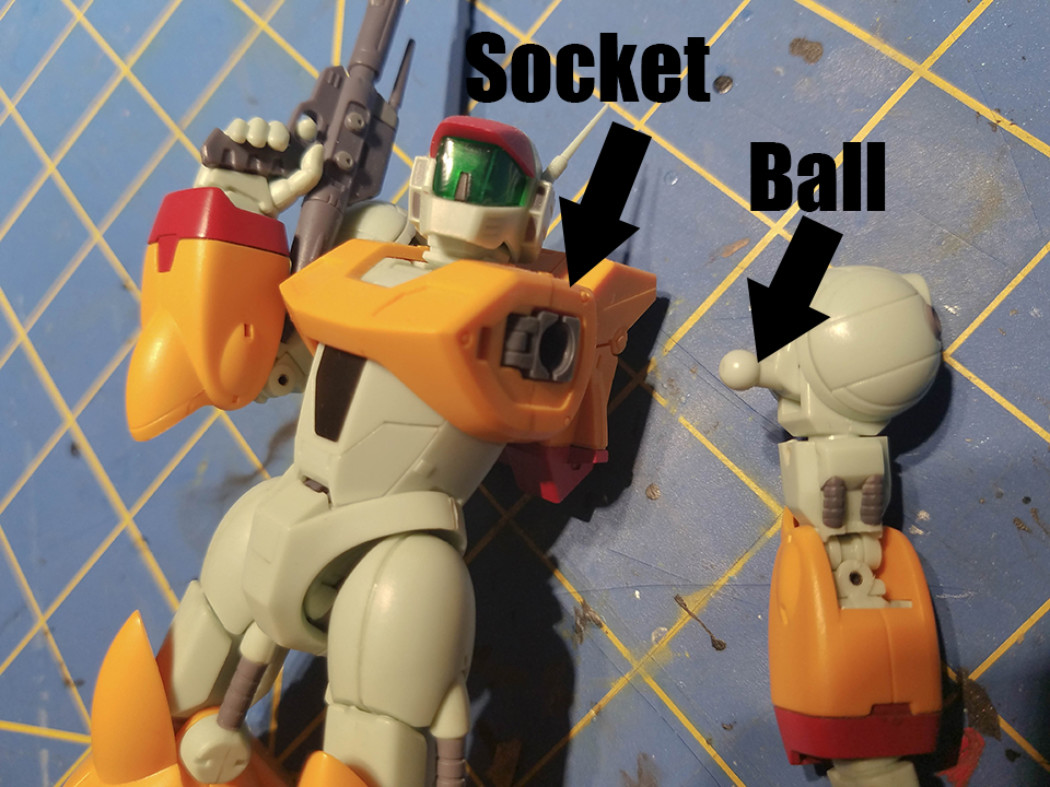 How to Soften Ball and Socket Joints
