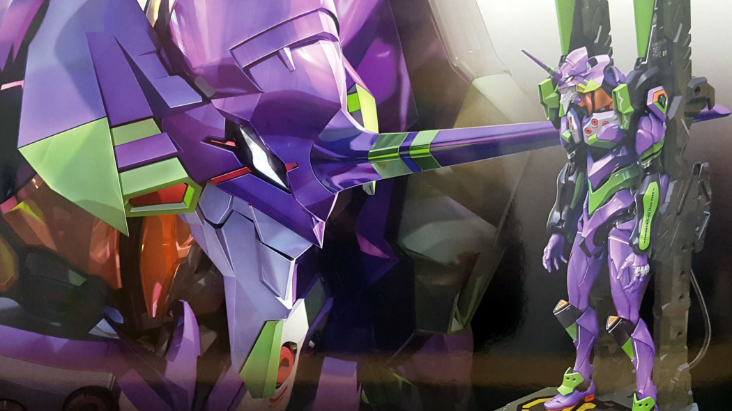 RG All-Purpose Humanoid Decisive Battle Weapon Artificial Human Evangelion Unit 01 DX Transporter Set