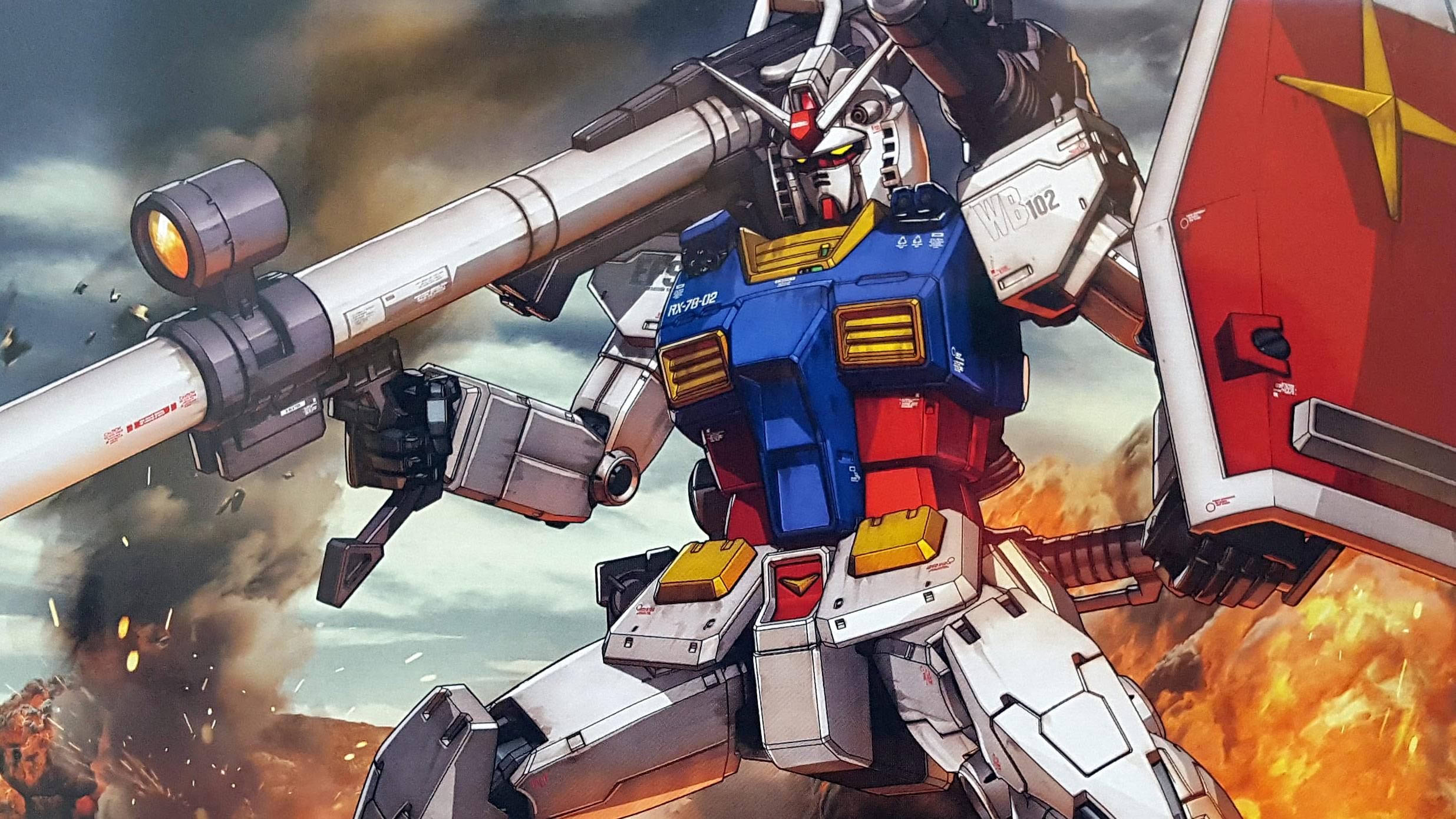 BANDAI HG THE ORIGIN RX-78-02 Gundam 1//144 Scale Japan import NEW