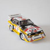 1/24 Aoshima Audi Quattro S1 – 1986 Monte Carlo Rally