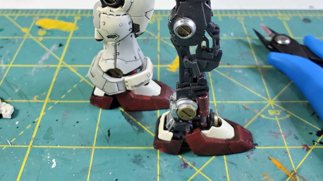 Happy Little Robots – Volume 1 – RG GP01 Inner Frame Detail Up!
