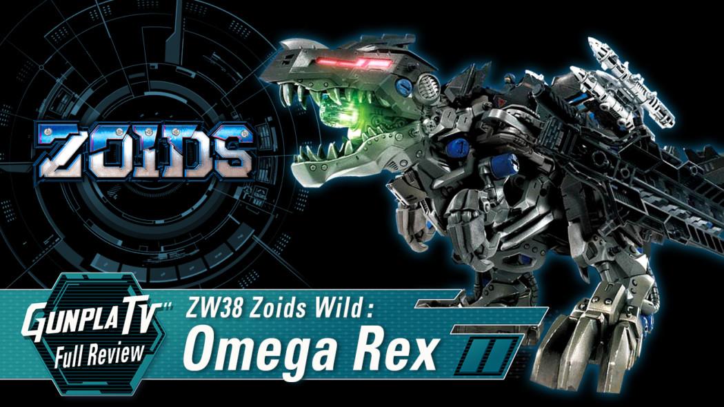 ZW38 Zoids Wild Omega Rex