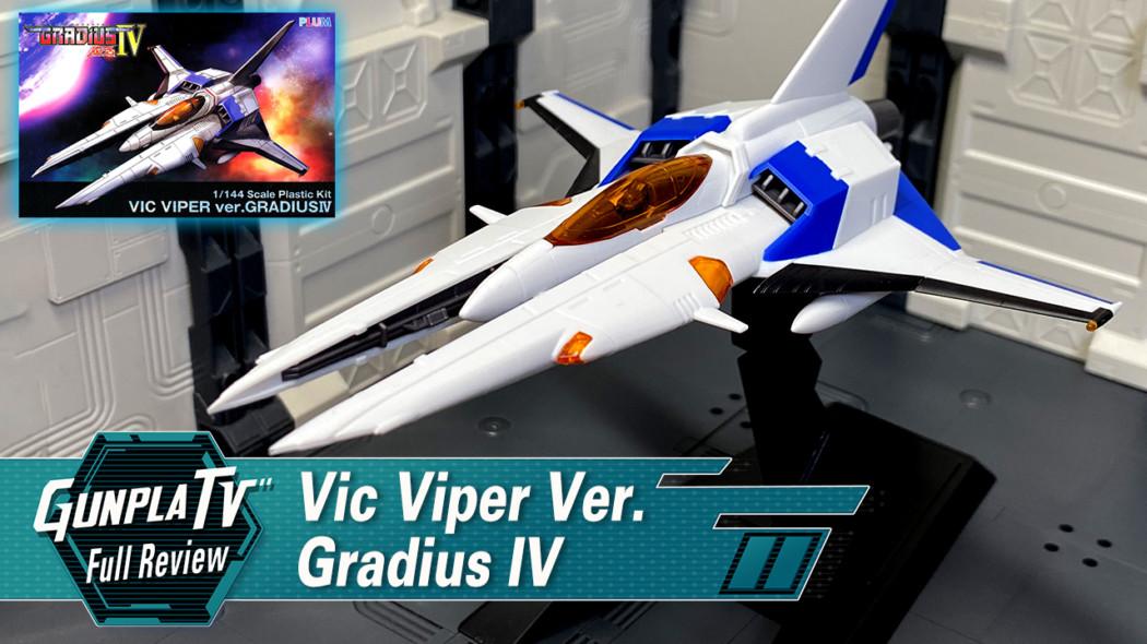 1/144 Plastic Kit Vic Viper Ver. Gradius IV