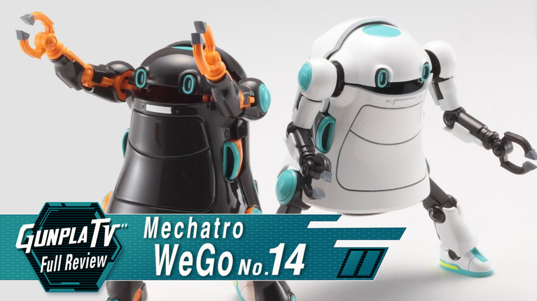 Gunpla TV – Mechatro WeGo Ghost Marshmallow & Chocolate