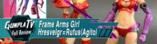 Frame Arms Girl Hresvelgr=Rufus (Agito)