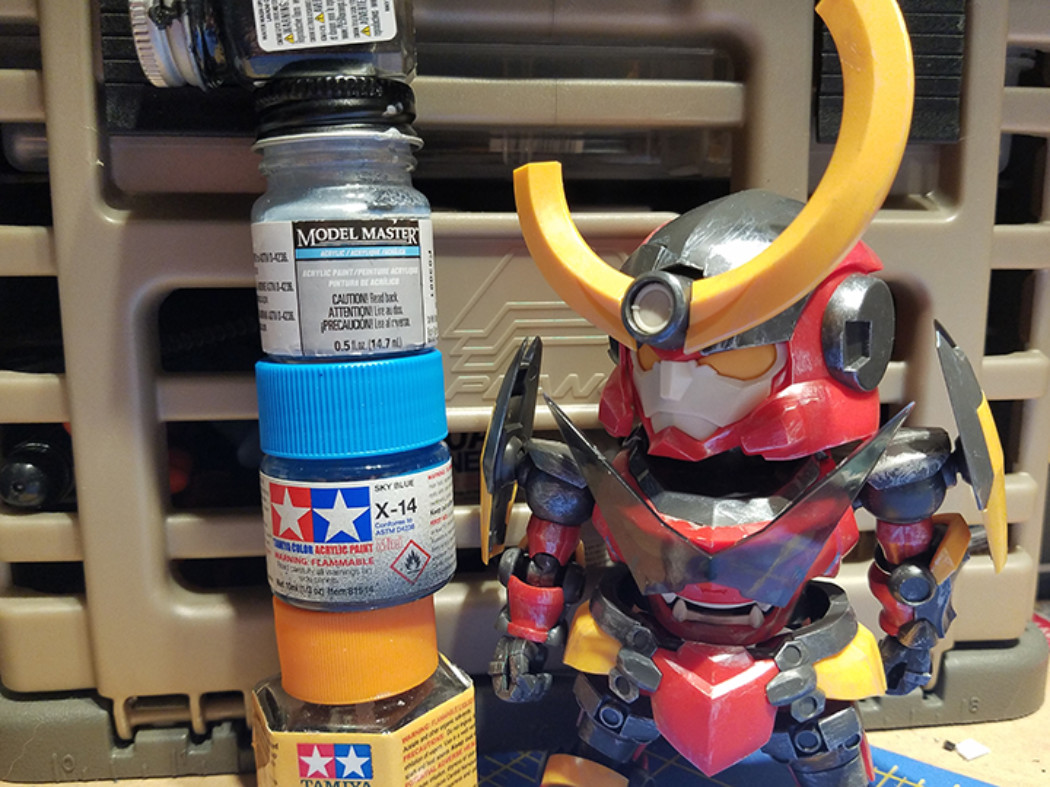 Touching up: Moderoid Gurren Lagann