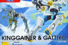 Robot Damashii Overman King Gainer & Gachico Unboxing
