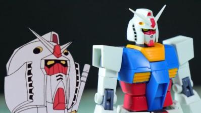 Robot Damashii (Side MS) PF-78-1 Perfect Gundam Ver. A.N.I.M.E. Review