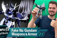 Fake Nu Gundam Weapons and Armor