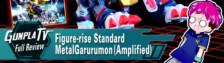 Figure-rise Standard MetalGarurumon (Amplified)
