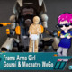 Frame Arms Girl Hand Scale Gourai with 20 MechatroWeGo Brown