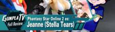 Phantasy Star Online 2 es: Jeanne (Stella Tears Ver.)