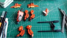 Strike Gundam vs LaGOWE Diorama – Part 1 – Building LaGOWE