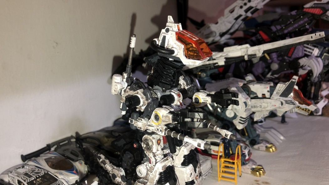 Zoids: Godos (Anime ver.) Tutorial – Part 2 – Weathering & Finishing Touches