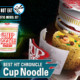 1/1 BEST HIT CHRONICLE Cup Noodle