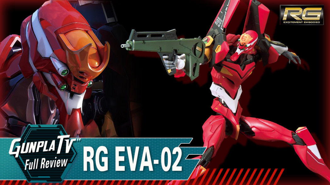 RG All-Purpose Humanoid Decisive Battle Weapon Artificial Human Evangelion Unit 02 (Production Model)