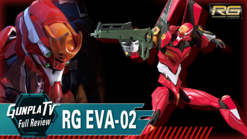 RG All-Purpose Humanoid Decisive Battle Weapon Artificial Human Evangelion Unit 02 (Production Model)