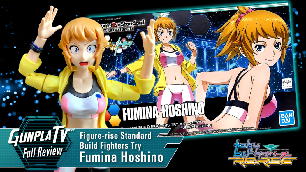 Figure-rise Standard Build Fighters Try Fumina Hoshino