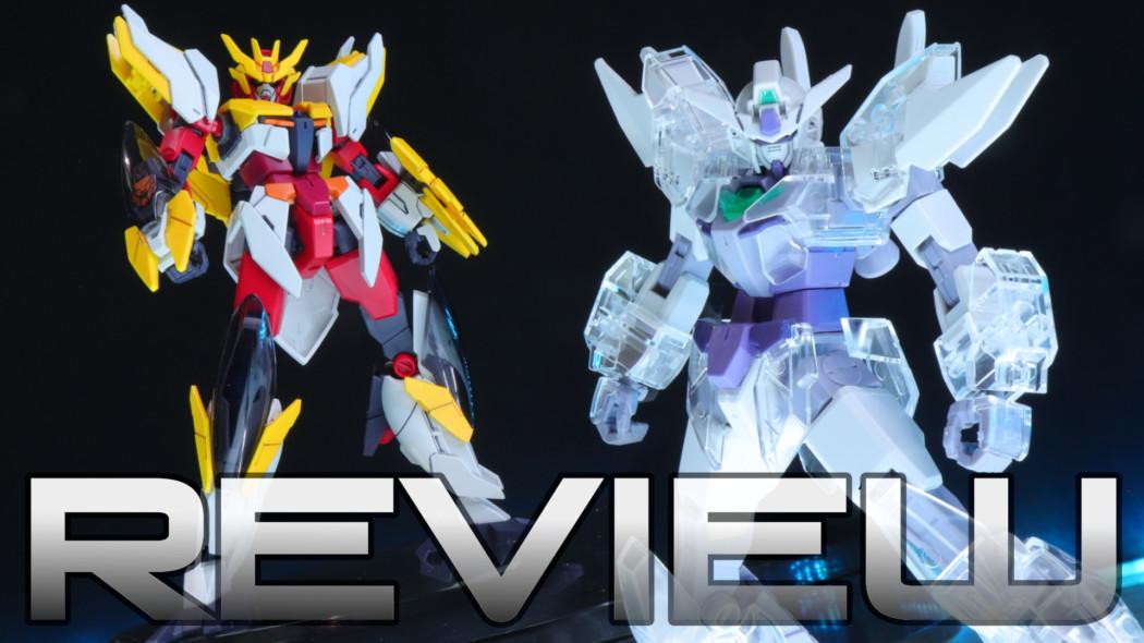 Crystal Earthree Gundam! HG 1/144 Gundam Anima Rize Review