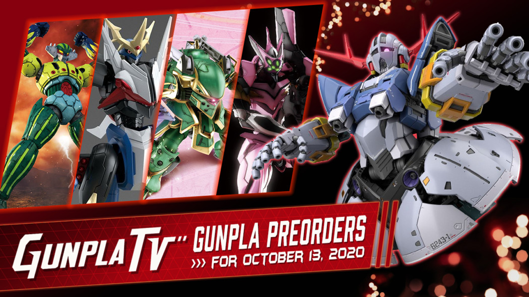 Gunpla Preorders: Oct 13, 2020
