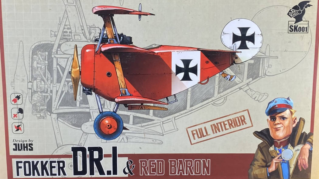 Fokker DR.I & Red Baron Unboxing