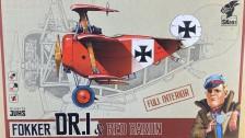 Fokker DR.I & Red Baron Unboxing