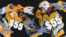 EVA Unit-00: Robot Damashii VS Real Grade!